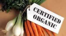 Certified Organic Foods
