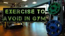 Exercises to Avoid