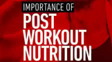Importance of Post-Workout Nutrition