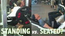 Seated vs Standing Exercises