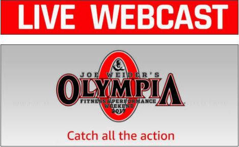 2020 Mr Olympia Webcast