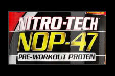 Pre-Workout Protein NOP-47